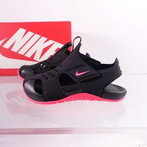 NEW Nike Sunray Protect 2 Sandals 943826-003 Black